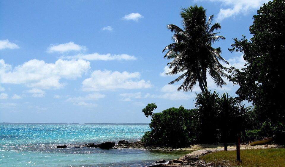 キリバスの地球温暖化影響