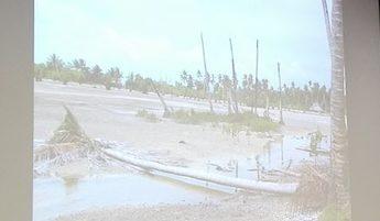 キリバスの気候危機